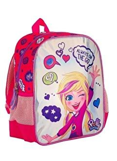 Me Çantam Parlak Polly Pocket Kız Çocuk Kırmızı Anaokulu Sırt Çantası